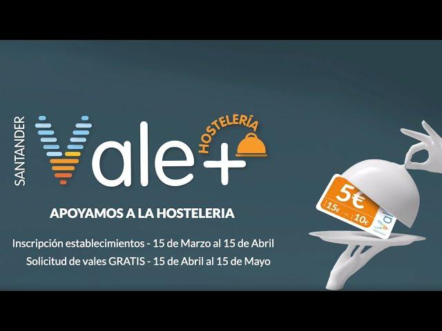 Santander Vale+ Hostelería